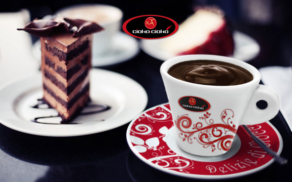 cioko-cioko tazza rossa mokavi caffe